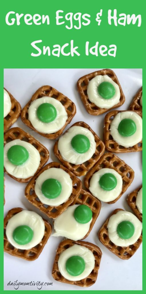 Green Eggs And Ham Snack Daily Momtivity